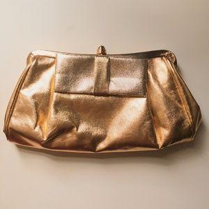 Vintage Gold Purse / Clutch